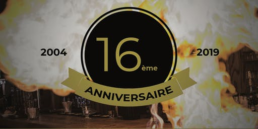 16 ans de L'Assommoir  26 et 27 septembre| 5 à 7 festif