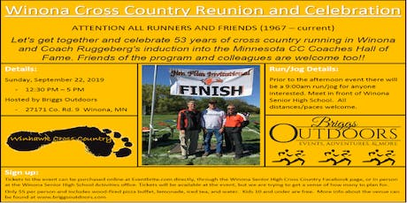 Winhawk Cross Country Reunion and Celebration tickets