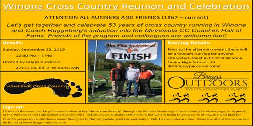 Winhawk Cross Country Reunion and Celebration