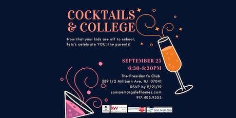 Cocktails & College tickets