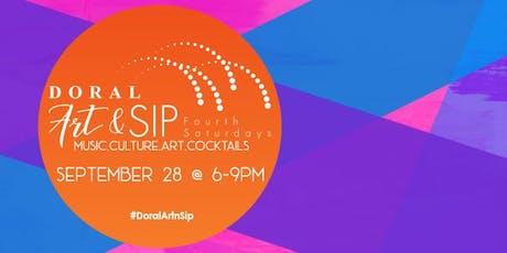 Doral Art & Sip tickets