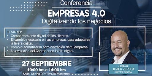 Monterrey, Empresas 4.0. La tendencia de crecimiento en tu negocio