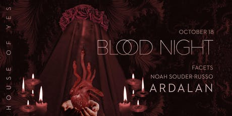 Blood Night with Ardalan tickets