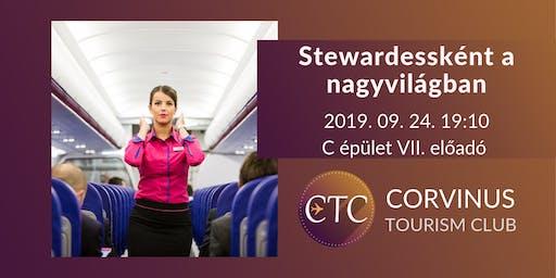 Stewardessként a nagyvilágban