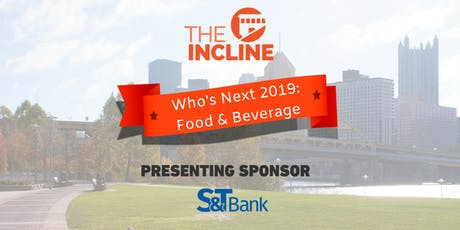 Who's Next 2019: Food and Beverage tickets