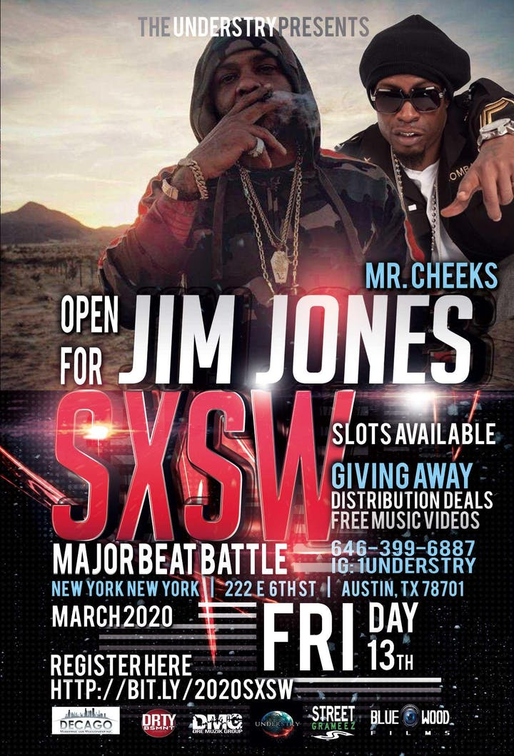 Austin Events March 2020.Jim Jones Sxsw 2020