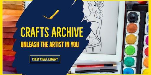 Crafts Archive: Shrinky Dink Keychains