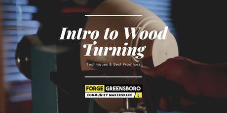 Intro to Turning Wood tickets