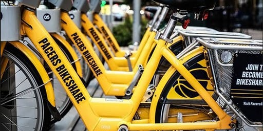 Speak Easy Member Lunch - Pacers Bikeshare Edition
