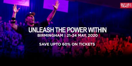 Tony Robbins Unleash the Power Within - Birmingham 2020 tickets