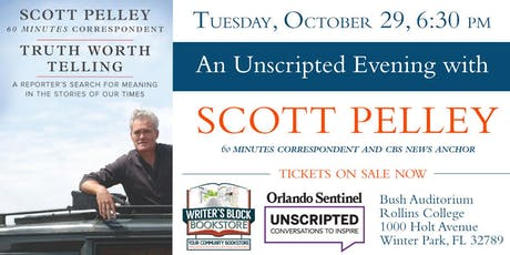An Unscripted Evening with Scott Pelley tickets