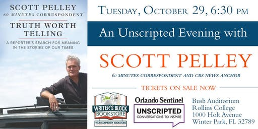 An Unscripted Evening with Scott Pelley