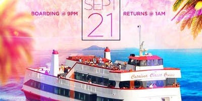 END OF SUMMER BOAT CRUISE PARTY in LONG BEACH