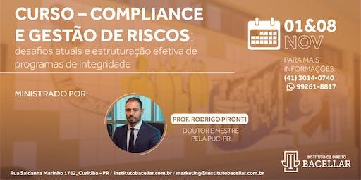 Curso: Compliance e Gestão de Riscos