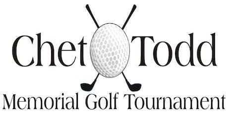49th Chet Todd Memorial Golf Tournament tickets