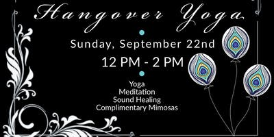 Hangover Yoga & Brunch ~ Inhale's 4 Year Celebration Bonanza