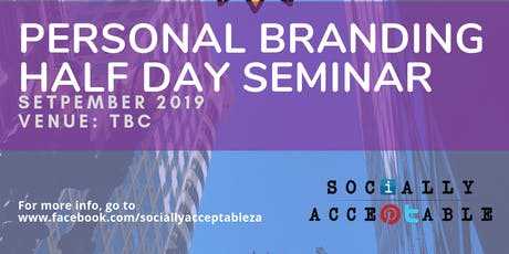 Personal Branding half day seminar (Durban) tickets