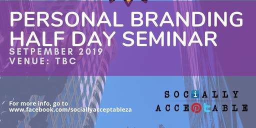 Personal Branding half day seminar (Durban)