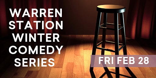 Warren Station Winter Comedy Series with AJ Finney and Jordan Doll- Friday, February 28, 2020