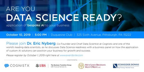 Are You Data Science Ready? tickets