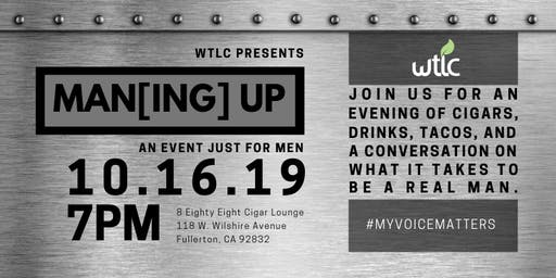 Man[ing] Up - An Event Just For Men
