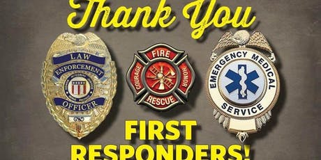 First Responders Appreciation Day tickets