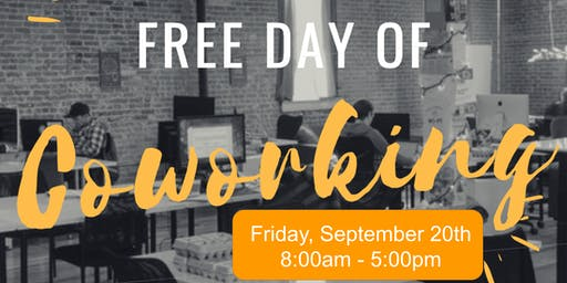 Free Day of Coworking - September