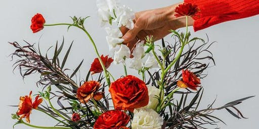 Floral Workshop with fibers & florals
