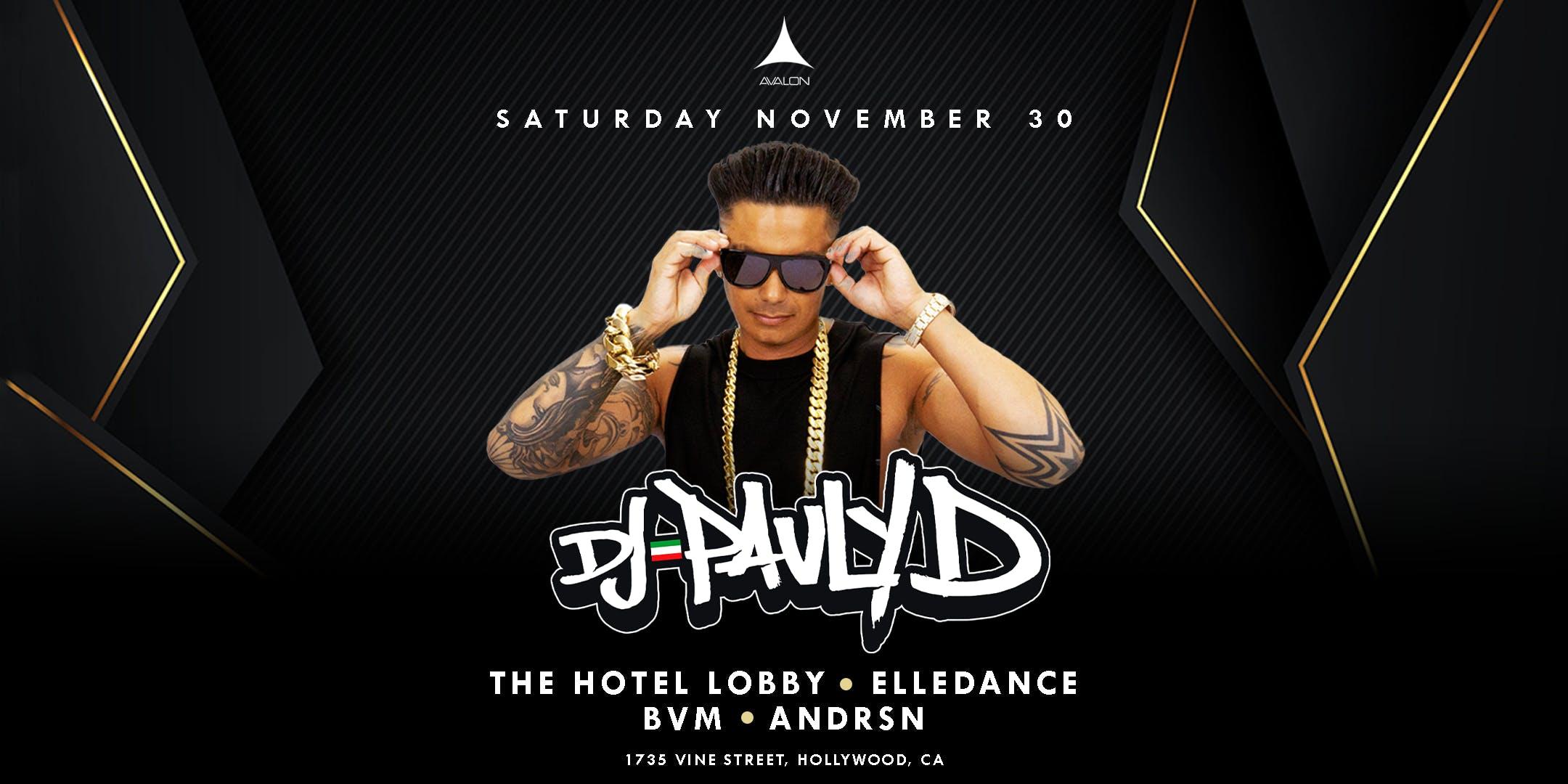 Avalon Presents DJ PAULY D