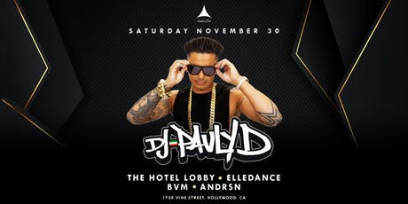 Avalon Presents: DJ PAULY D tickets