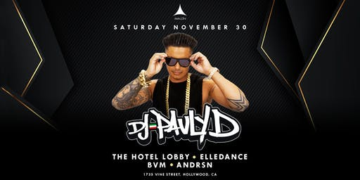 Avalon Presents: DJ PAULY D