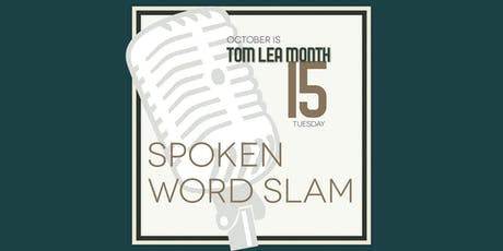 Spoken Word Slam at The Black Orchid tickets