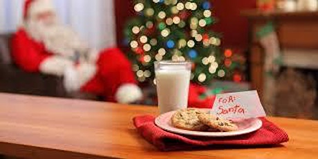 Decorating Cookies with Santa tickets