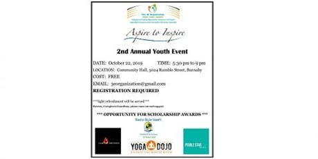 Aspire to Inspire - 2nd Annual Youth Event tickets