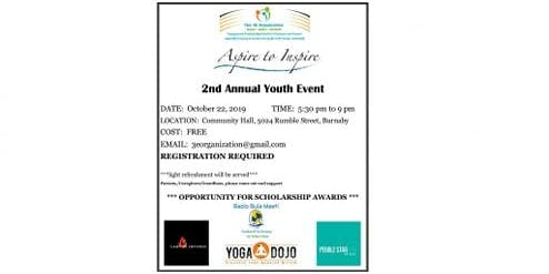 Aspire to Inspire - 2nd Annual Youth Event