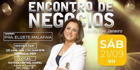 4º Encontro de Negócios Rio de Janeiro ingressos