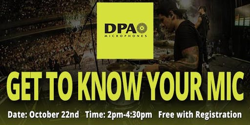DPA Microphones: Get To Know Your Mic