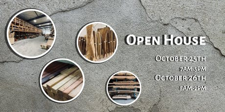 The WoodSource Open House tickets