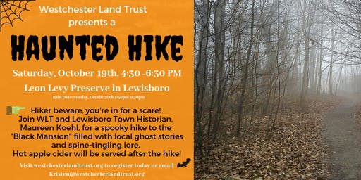 A Haunted Hike!!!!