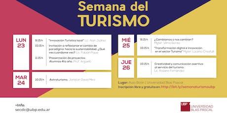 Ciclo de conferencias - Semana del Turismo entradas