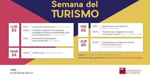 Ciclo de conferencias - Semana del Turismo