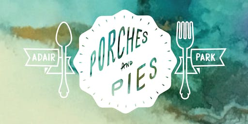 Porches and Pies Festival Tasting Passes - 2019