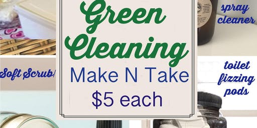 Green Cleaning with Essential Oils!