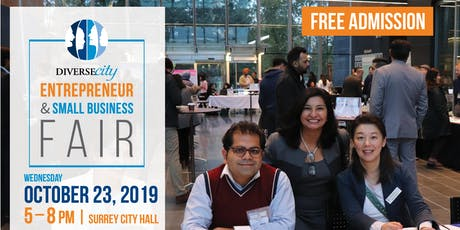 2019 DIVERSEcity Entrepreneur & Small Business Fair - Surrey City Hall tickets