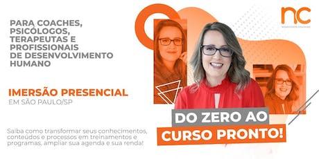 Imersão + Mentoria Do ZERO ao CURSO pronto!  ingressos