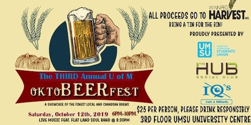 OktoBEERfest! THIRD Annual U of M Beer Festival