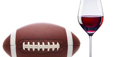 Football Fans! Wine or Beer Glass Painting Class @ HV Station