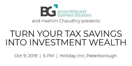 Turn Your Tax into Investment Wealth tickets