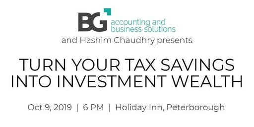 Turn Your Tax into Investment Wealth