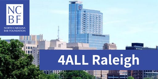 4ALL Statewide Service Day 2020 - Raleigh